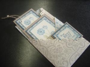 Folded designer paper